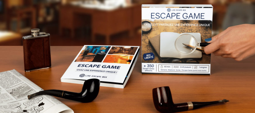 Coffret cadeau Live Escape Box