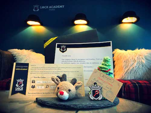 Coffret cadeau Lock Academy Escape Game