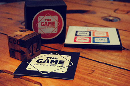 The Game Cube cadeau Escape Game